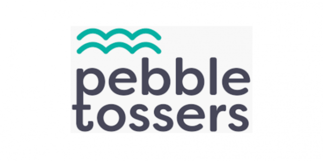 Brownieland Pictures Volunteers with Pebble Tossers