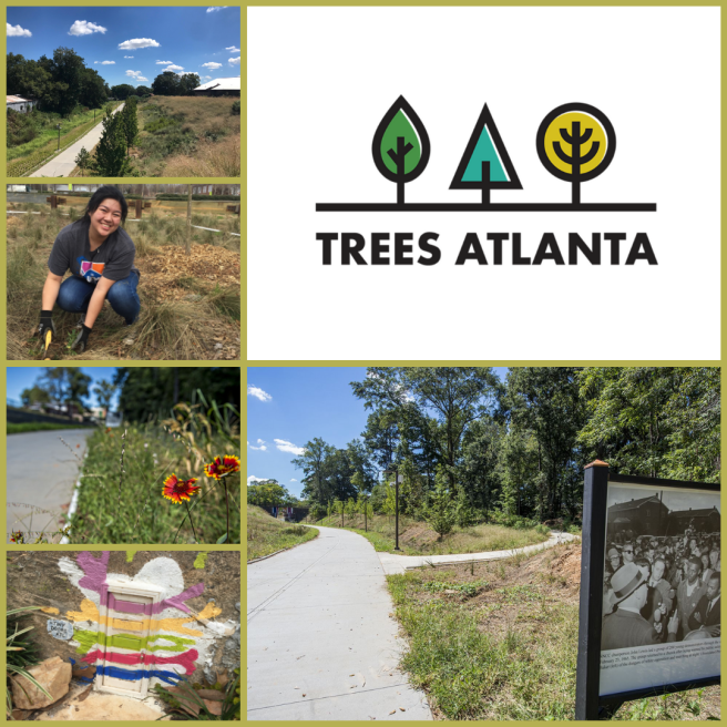 Brownieland Volunteers with Trees Atlanta