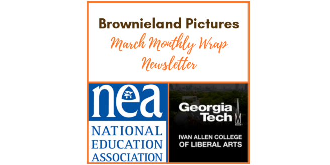 Brownieland Pictures March Newsletter