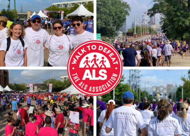 Brownieland Pictures participates in the Atlanta Walk to Defeat ALS