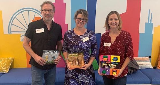 Brownieland Visits Pajama Program Reading Center