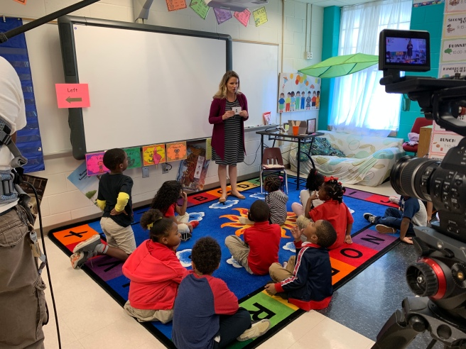 Brownieland Pictures Partners with Atlanta Speech School's Rollins Center for Language and Literacy to produce videos for Read Right from the Start on Cox Campus