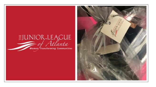 Brownieland's January Volunteer Project with Handmade through Junior League of Atlanta