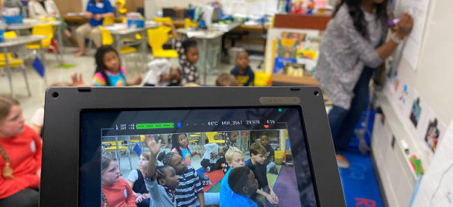 BROWNIELAND FILMS AT CRISP COUNTY PRIMARY FOR THE ROLLINS CENTER FOR LANGUAGE AND LITERACY'S COX CAMPUS COURSE