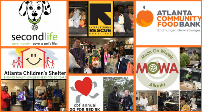 Brownieland Pictures Volunteer with Atlanta Nonprofits
