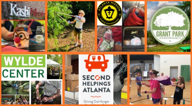 Brownieland Pictures Volunteers with Atlanta nonprofits