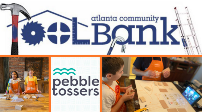 Brownieland Pictures June Volunteer Project with the Atlanta ToolBank through Pebble Tossers
