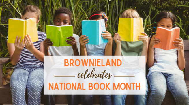 Brownieland Pictures Celebrates National Book Month by supporting Atlanta Nonprofits that Promote Literacy