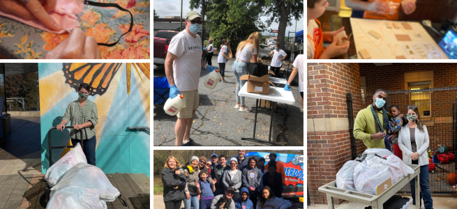 Brownieland Pictures Volunteers with Atlanta Nonprofits in 2020