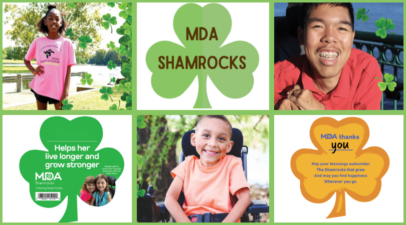 Brownieland Pictures Volunteers with Muscular Dystrophy Association MDA Shamrocks Program in celebration of St. Patrick's Day